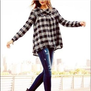 Free people walk in the park tunic